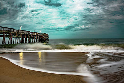 Photograph - Sunrise Sandbridge Virginia by Pete Federico