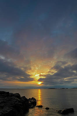 Photograph - Sunrise Sea View  by Juergen Roth