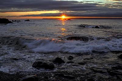 Photograph - Sunrise Seascape Over Sail Rock by Marty Saccone