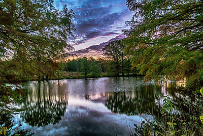 Photograph - Sunrise Shaw Nature Reserve 7r2_dsc2549_10242017 by Greg Kluempers
