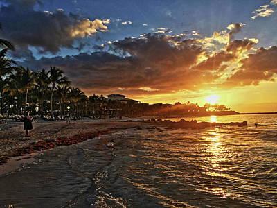 Photograph - Sunrise. by Shlomo Zangilevitch