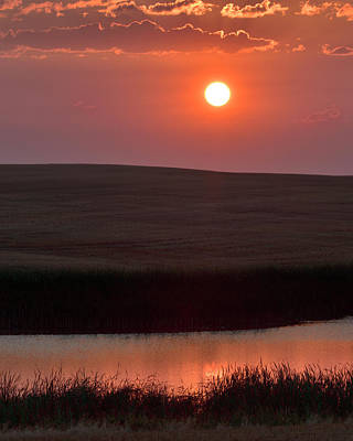 Photograph - Sunrise South Dakota by Don Spenner