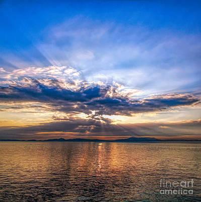 Photograph - Sunrise South Korea by Susan Lafleur
