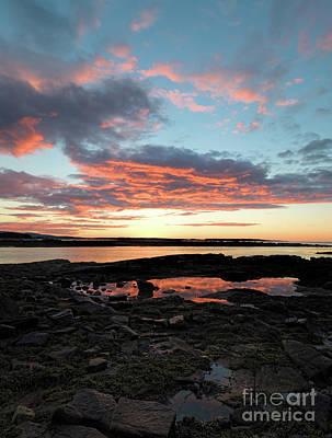 Photograph - Sunrise, Southwest Harbor, Maine  #40161 by John Bald