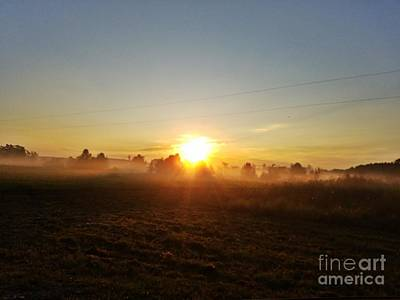 Photograph - Sunrise Spectaculare by Maria Urso