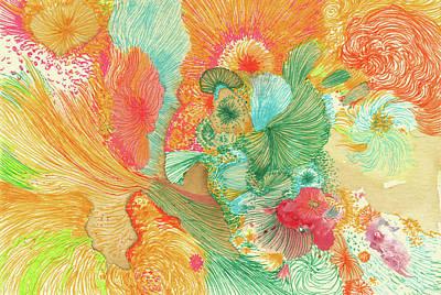 Sunrise - #ss18dw001 Art Print by Satomi Sugimoto