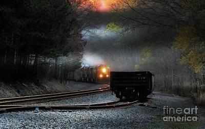 Photograph - Sunrise Steel by Rick Lipscomb