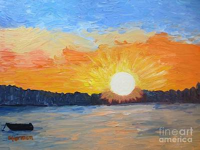 Painting - Sunrise Sensation by Stella Sherman