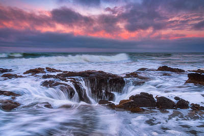 Sunrise Storm At The Well Print by Darren White