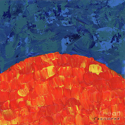 Painting - Sunrise Sunset 4 by Diane Thornton