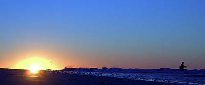 Photograph - Sunrise Surf I I I by Newwwman