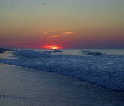 Photograph - Sunrise Surf I I by Newwwman