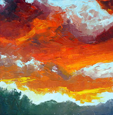 Painting - Sunrise by Susan Woodward