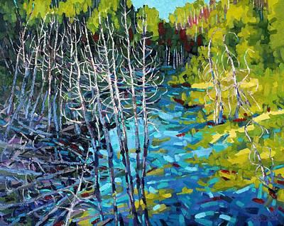 Sunrise Swamp Art Print