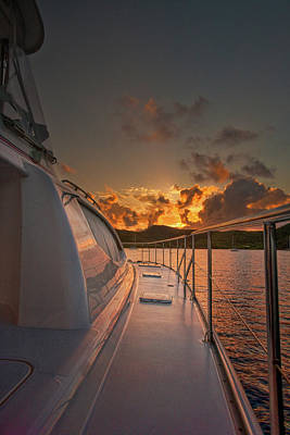 Photograph - Sunrise The Bight by Gary Felton