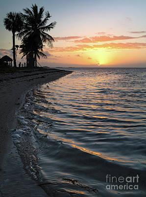Photograph - Sunrise, Veterans Memorial Park, Little Duck Key, Florida -45516 by John Bald