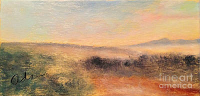 Painting - Sunrise View From Trapp Lodge Stowe by Felipe Adan Lerma