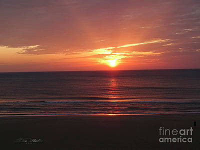 Photograph - Sunrise Virginia Beach by Melissa Messick