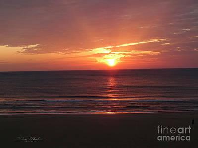 Photograph - Sunrise Virginia Beach by Melissa Messick