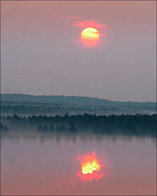 Photograph - Sunrise by Vladimir Kholostykh