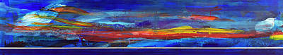Painting - Sunrise Panorama by Walter Fahmy