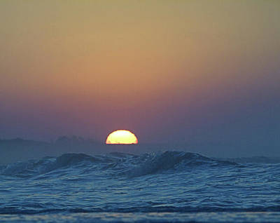 Photograph - Sunrise Wave I I by Newwwman