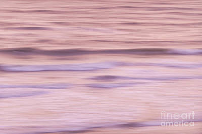 Blur Photograph - Sunrise Waves 2 by Elena Elisseeva