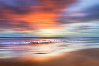 Photograph - Sunrise Waves Dreamscape by Debra and Dave Vanderlaan