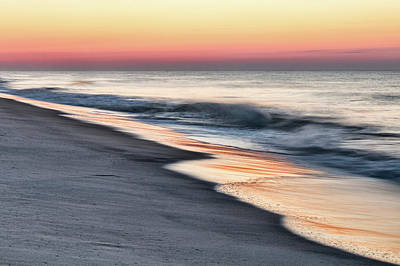 Photograph - Sunrise Waves by Kristia Adams