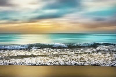 Photograph - Sunrise Zen Dreamscape by Debra and Dave Vanderlaan