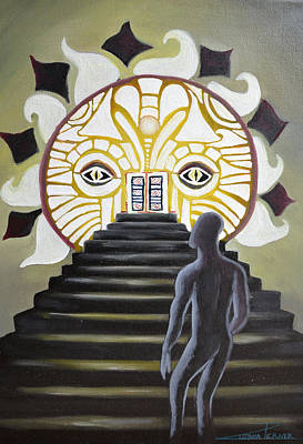 Painting - Sunrise by Zuzana Perner