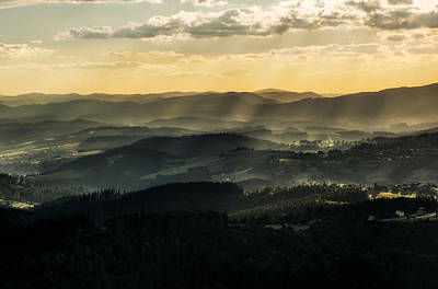 Photograph - Sunrises Over Beskidy by Jaroslaw Blaminsky