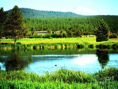 Photograph - Sunriver Resort, Oregon by Robert ONeil