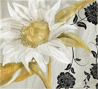 Sunflowers Rights Managed Images - Sunroom I Royalty-Free Image by Mindy Sommers