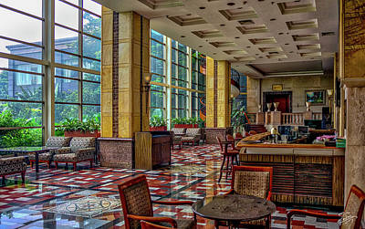 Photograph - Sunroom Of The Gladden Hotel - Shilong by Endre Balogh