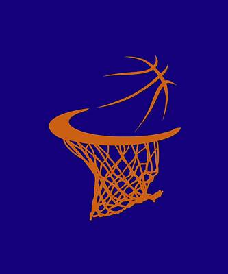 Hoodies Photograph - Suns Basketball Hoop by Joe Hamilton