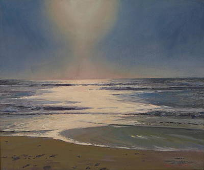 Painting - Sun's Glow by Dianne Panarelli Miller