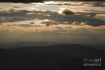 Sunset - White Mountains New Hampshire Usa Art Print by Erin Paul Donovan