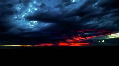 Photograph - Sunset #10 by Anne Westlund