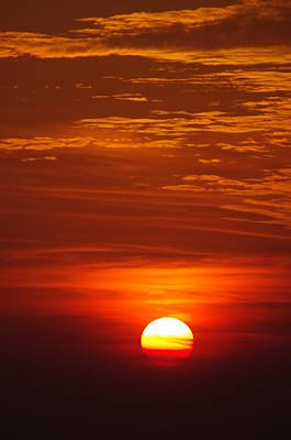 Sunset 13 Art Print by Don Prioleau