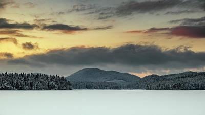 Photograph - Sunset 19.12.2017 by Plamen Petkov