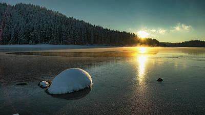 Photograph - Sunset 20.12.2017 by Plamen Petkov