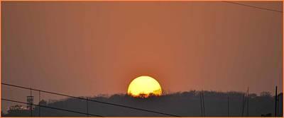 Photograph - Sunset 2017 by Sonali Gangane