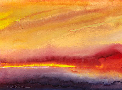Painting - Sunset 21 by Miki De Goodaboom