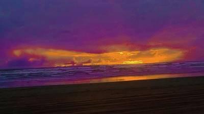 Photograph - Sunset #3 by Anne Westlund