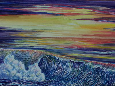 Sunset 3 Art Print by Arnold Hurley