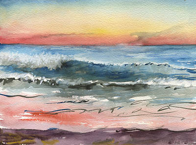 Painting - Sunset 39 Imperial Beach by Brian Meyer