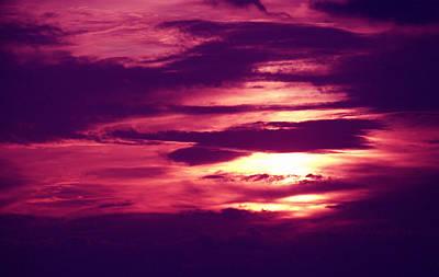 Sunset 4 Art Print by Evelyn Patrick