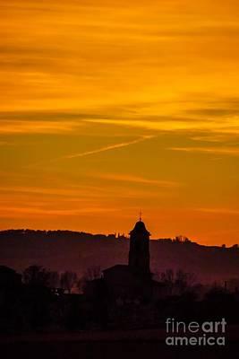 Sunset 6 Art Print by Jean Bernard Roussilhe