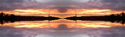 Photograph - Sunset 680 Fractal by Julia Woodman
